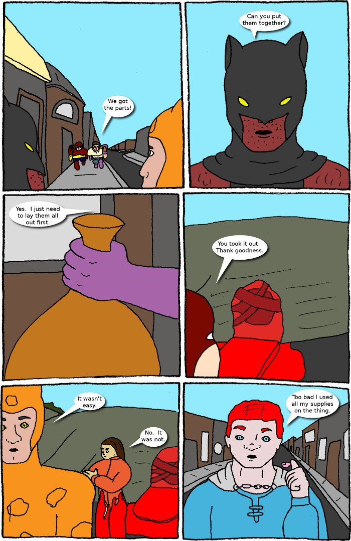 Page 18: issue 3 - Crossover Melee Part 3: Dual Fronts