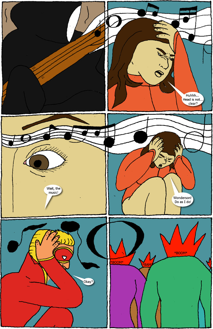 Page 7: issue 6 - Crossover Melee Part 6: Face the Music