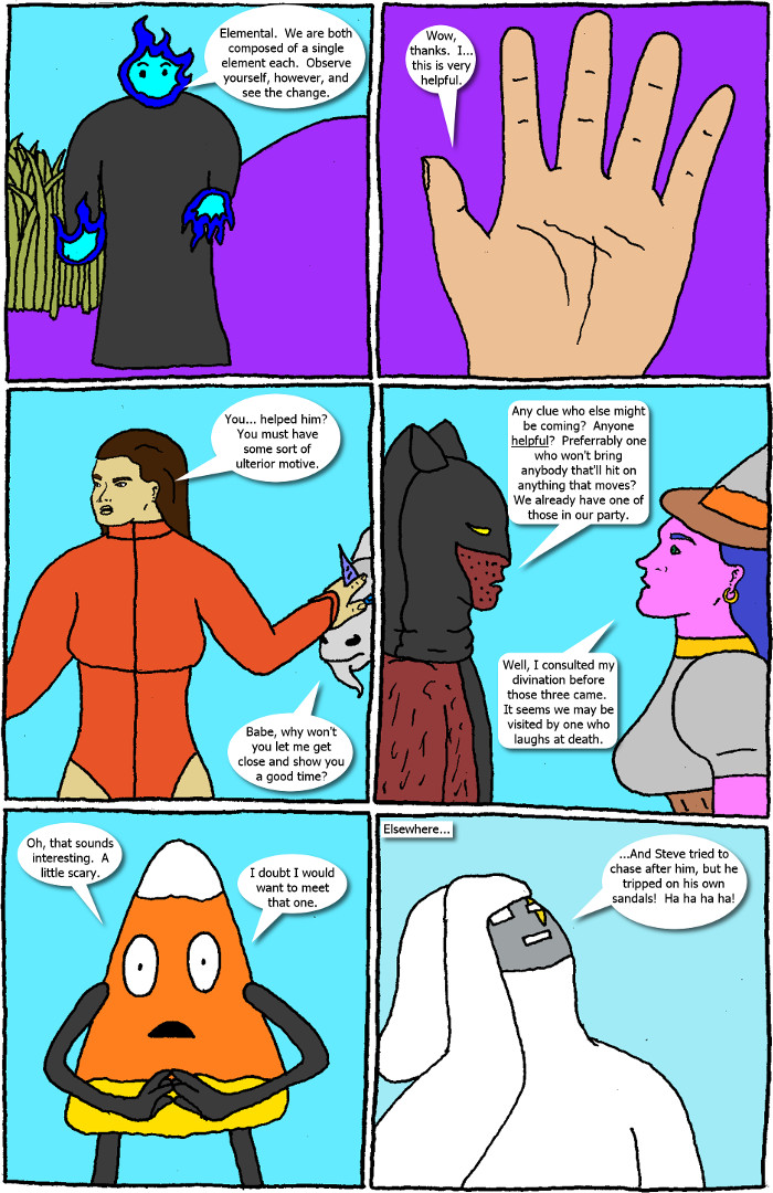 Page 39: issue 5 - Crossover Melee Part 5: War, Sweet War