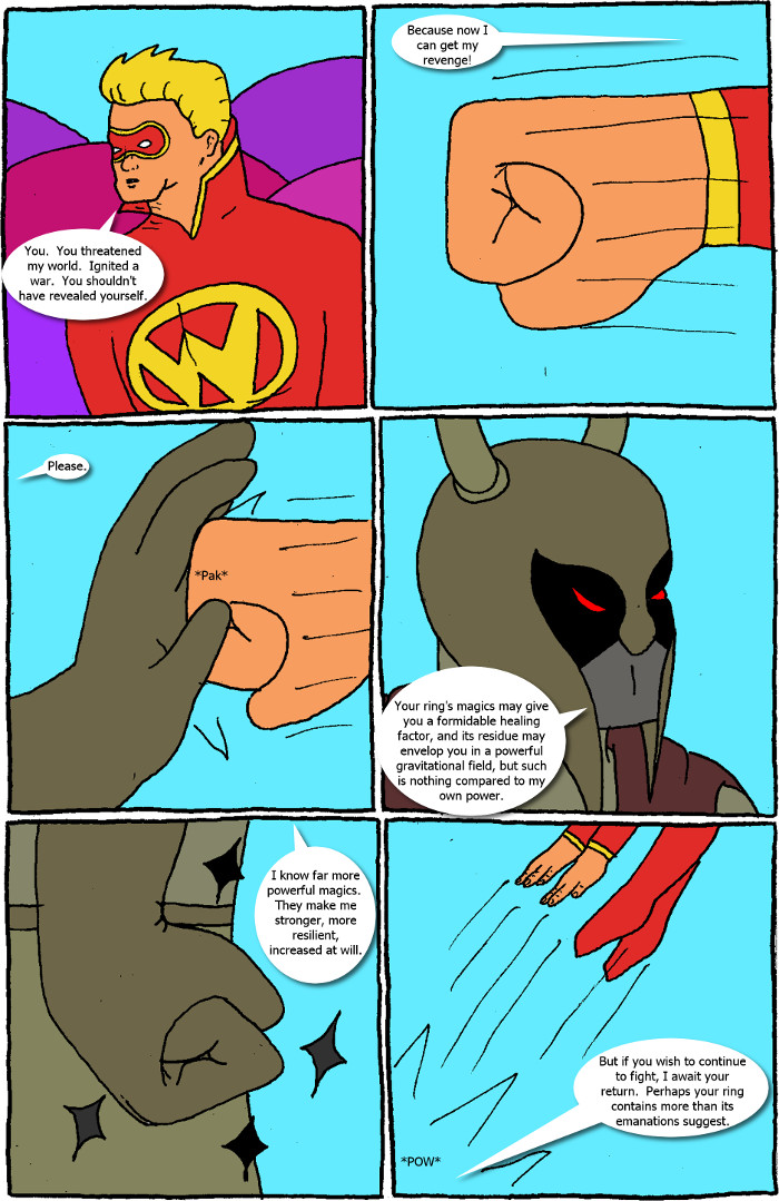 Page 57: issue 5 - Crossover Melee Part 5: War, Sweet War