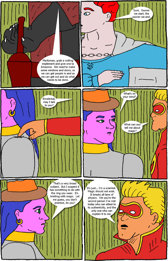 Page 49: issue 5 - Crossover Melee Part 5: War, Sweet War